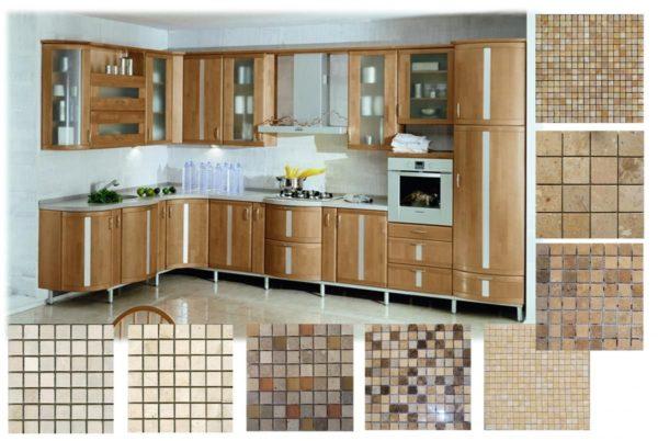 Разнообразие цвета панно на кухню
