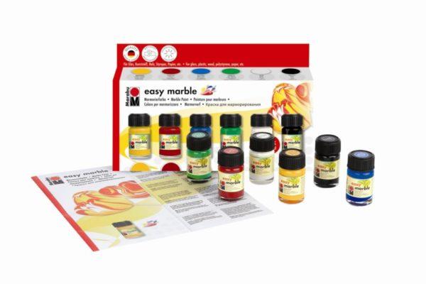 Набор красок Marabu для росписи по кафелю