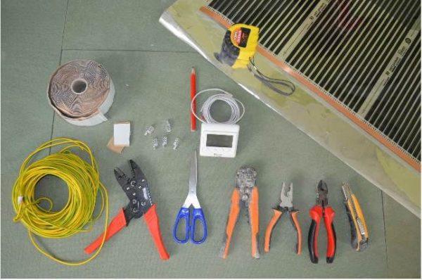 какие материалы нужны для установки водяного пола
