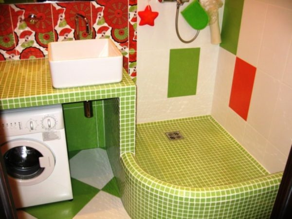 Ванная комната своими руками с кабинкой