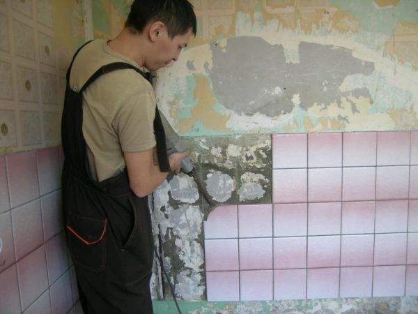 подготовка стен и пола к укладке плитки в туалете
