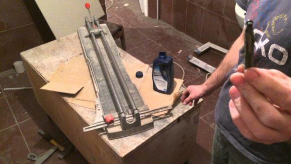 Как сделать плиткорез своими руками?