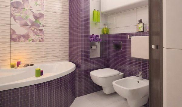 От качества укладки плитки зависит общий вид ванной комнаты