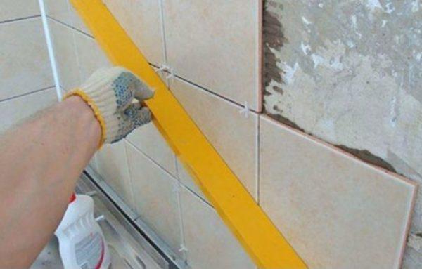 Правильное применение крестиков при укладке плитки