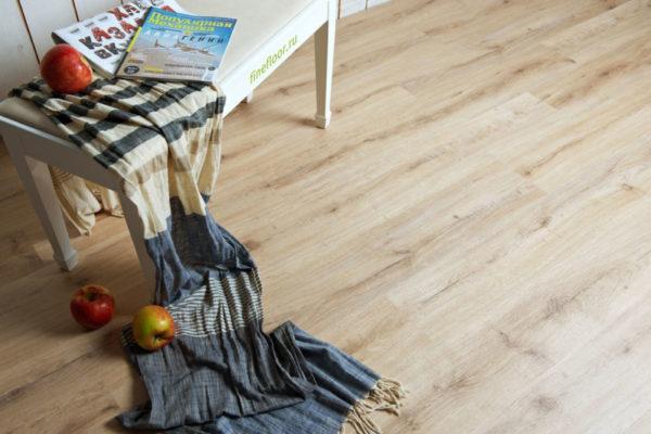 Преимущество кварцвиниловой плитки - ее приятный эстетичный вид