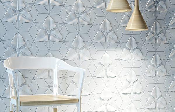 Рельефная керамическая плитка