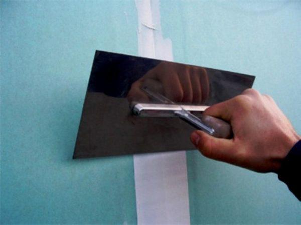 Подготовка гипсокартонной поверхности к укладке плитки