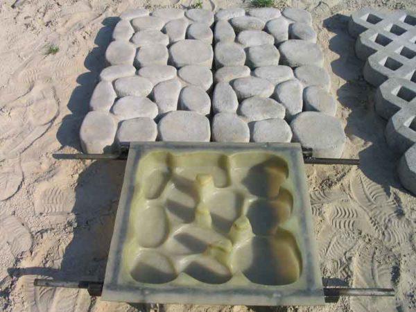 Резиновая плитка своими руками изготовление