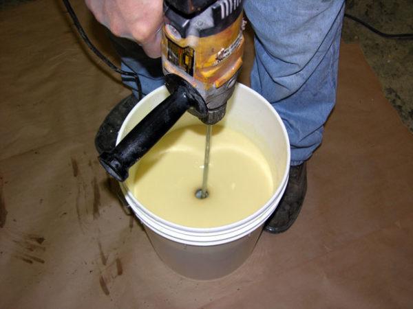 Полиуретановая смесь для изготовления форм для плитки
