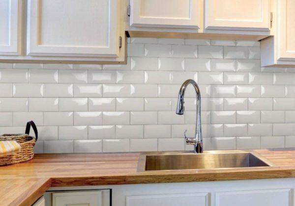 Плитка кабанчик для облицовки кухонного фартука