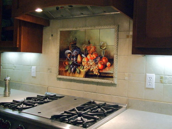 Кухонное панно для фартука