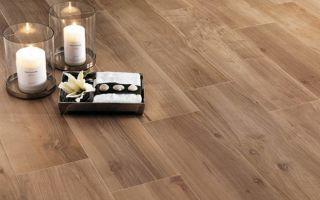 Керамическая плитка под дерево — свойства, особенности использования и способы укладки