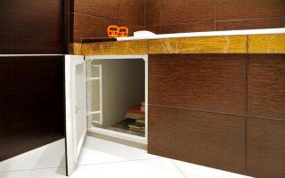 Каким должен быть люк под плитку в ванной комнате?