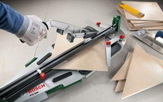 Как правильно резать плитку плиткорезом – технологические нюансы