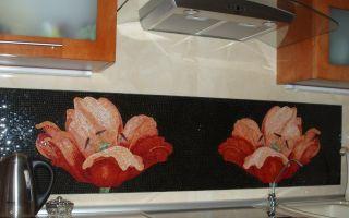 Панно из керамической плитки на кухню: креативно и завораживающе