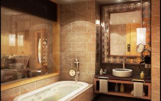 Как выбрать облицовочный кафель для оформления стен в ванной комнате