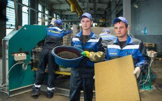 Как осуществляется производство резиновой плитки