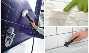 5 способов очистки швов между плиткой на кухне