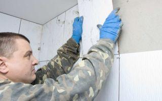 Вопросы отделки стен: как класть плитку на гипсокартон?