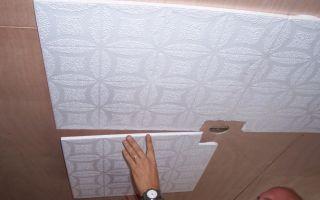 Простой монтаж потолочной плитки: виды плитки и порядок работ