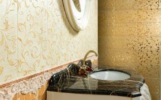 Какая плитка подойдет для ванной
