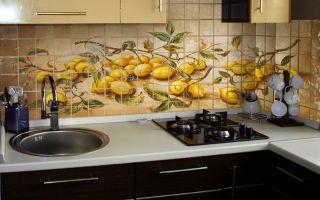 Фотоплитка — универсальный материал для оформления кухни