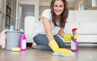 Способы очистки швов между плиткой на полу