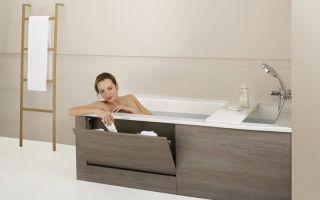 Экран для ванной из плитки – варианты исполнения и инструкция по реализации проекта своими руками