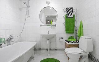 Белая плитка в интерьере кухни и ванной комнаты — особенности использования и преимущества применения