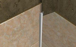 Правила выбора и укладки уголков для плитки в ванной комнате