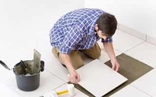 Как уложить плитку в ванной – пошаговая инструкция