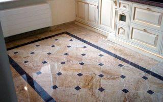 Какую плитку можно выбрать на пол на кухню и в прихожую