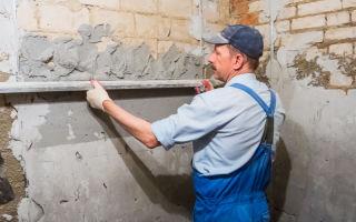 Чем можно штукатурить стены в ванной комнате