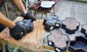 Как сделать плитку своими руками в домашних условиях
