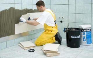 Инструкция по укладке плитки на плитку в ванной комнате