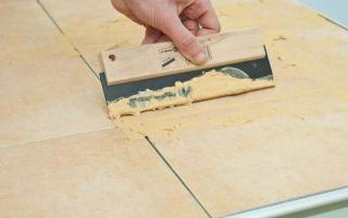 Подробная инструкция о том, как затирать швы на плитке