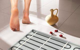 Какой теплый пол лучше выбрать под плитку — советы профессионалов