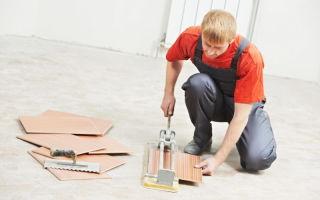 Как резать напольную плитку в домашних условиях — обзор возможных вариантов