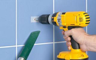 Как можно сверлить кафельную плитку на стене — пошаговая инструкция