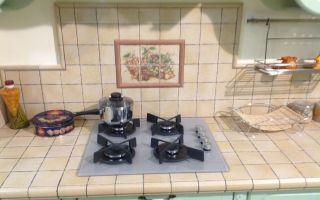Варианты столешницы из плитки на кухню