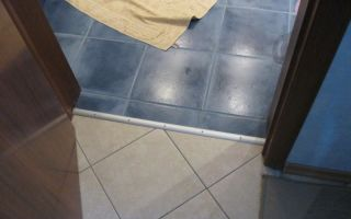 Как правильно сделать стык плитки и плитки — разнообразие способов