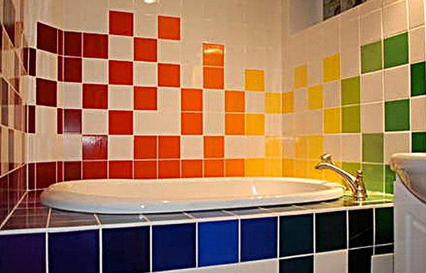 Ванная комната с обновленным дизайном