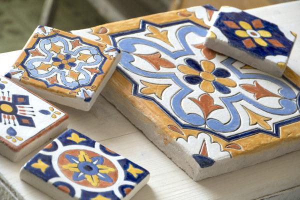 Керамическая плитка своими руками