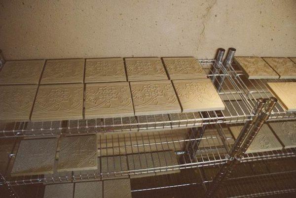 Обжиг керамической плитки