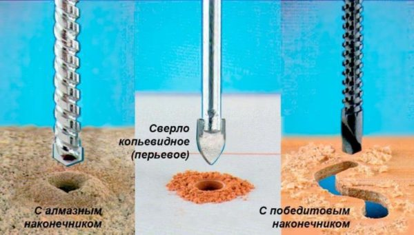 Сверла для керамической плитки