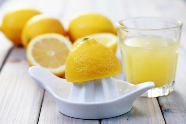 Сок лимона для чистки кафеля