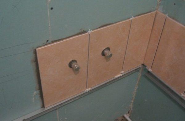 Укладка плитки на металлический каркас