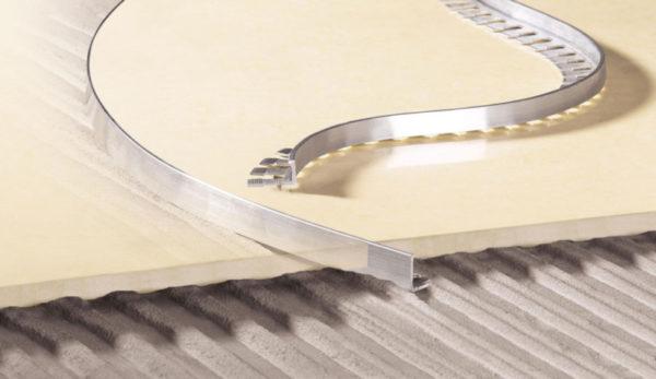 Угловой гибкий профиль для плитки