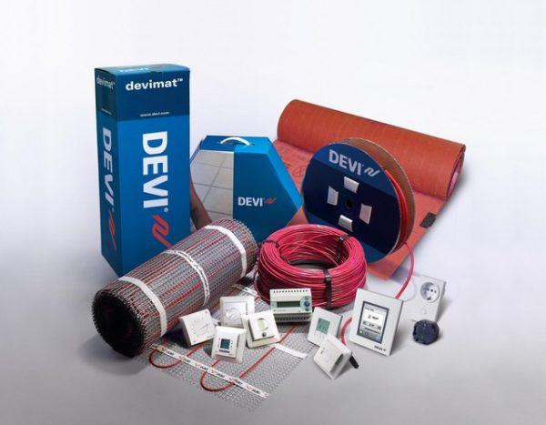 Электрические системы теплых полов от фирмы «Devi»