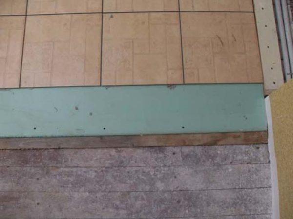 Экспресс-технология выравнивания деревянного пола с помощью листов гипсокартона под плитку